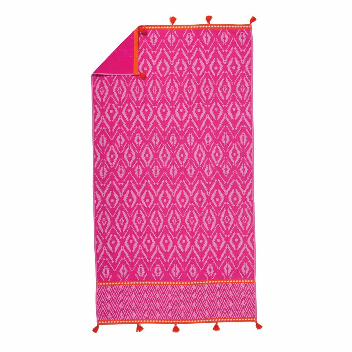 Πετσέτα Θαλάσσης Nef-Nef Visions Pink