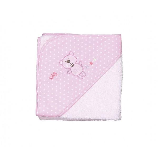 Βρεφική Κάπα Nef-Nef Baby Bears Pink