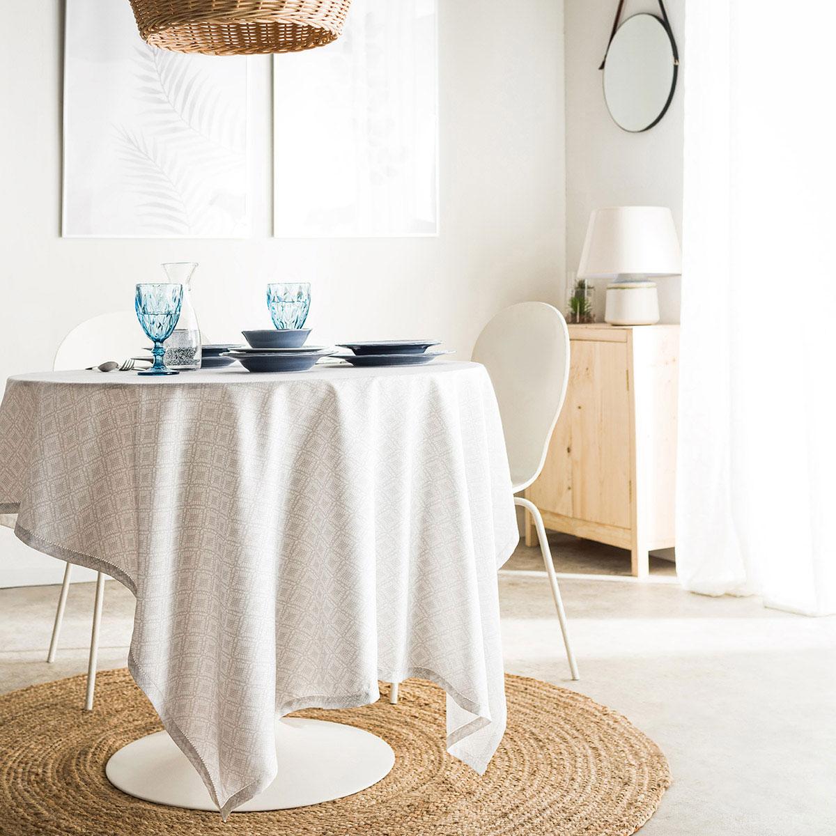 Τραπεζομάντηλο (140×300) Gofis Home Delfina Grey 237/15