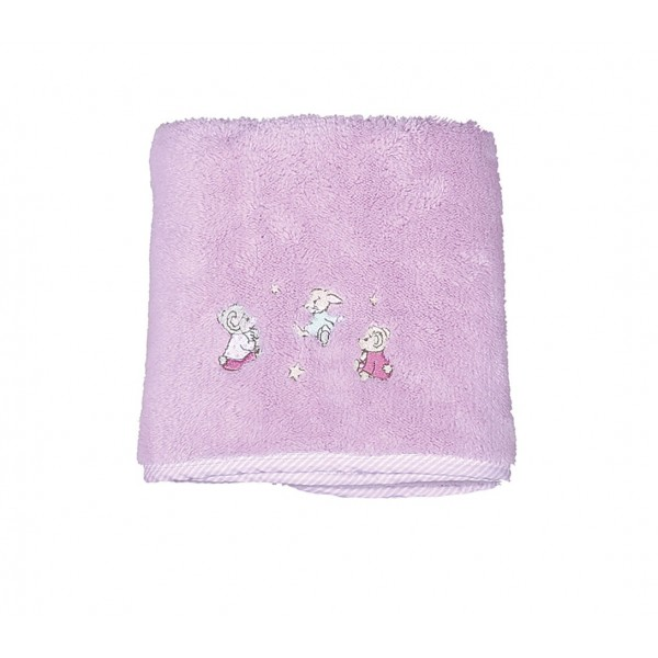 Κουβέρτα Fleece Αγκαλιάς Nef-Nef Baby Dream With Me Lilac