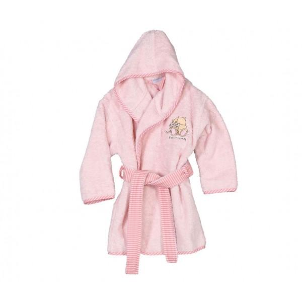 Βρεφικό Μπουρνούζι Nef-Nef Baby FF Big Hugs Pink