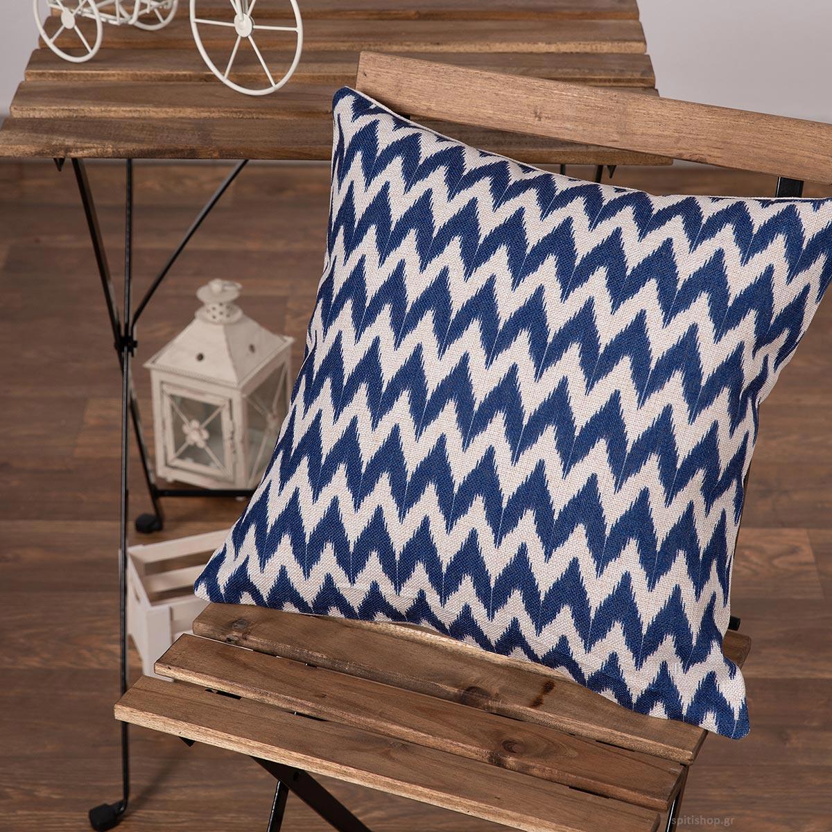 Διακοσμητική Μαξιλαροθήκη (45×45) Silk Fashion Lino8