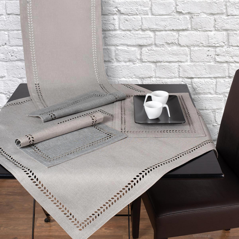 Καρέ 2 Όψεων Silk Fashion BG18 Grey