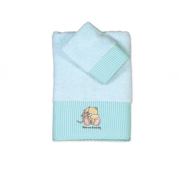 Βρεφικές Πετσέτες (Σετ 2τμχ) Nef-Nef Baby FF Big Hugs Mint