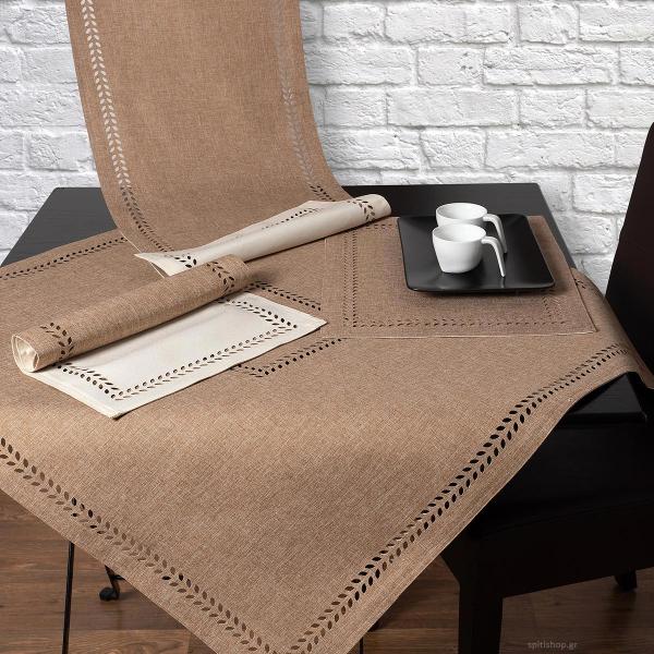 Καρέ 2 Όψεων Silk Fashion BG18 Beige/Sand