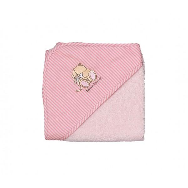 Βρεφική Κάπα Nef-Nef Baby FF Big Hugs Pink