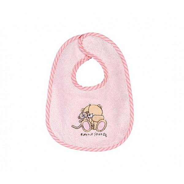Σαλιάρα Nef-Nef Baby FF Big Hugs Pink