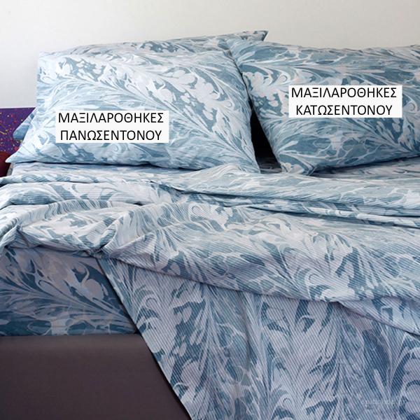 Ζεύγος Μαξιλαροθήκες Melinen Ultra Brooks Blue