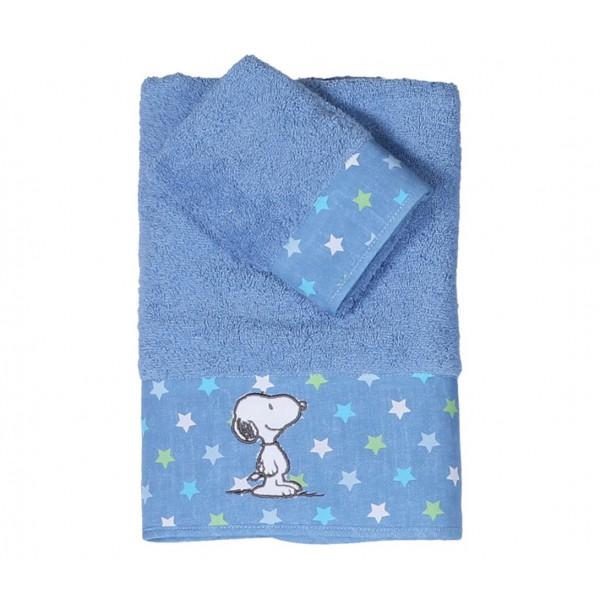 Βρεφικές Πετσέτες (Σετ 2τμχ) Nef-Nef Baby Snoopy Star