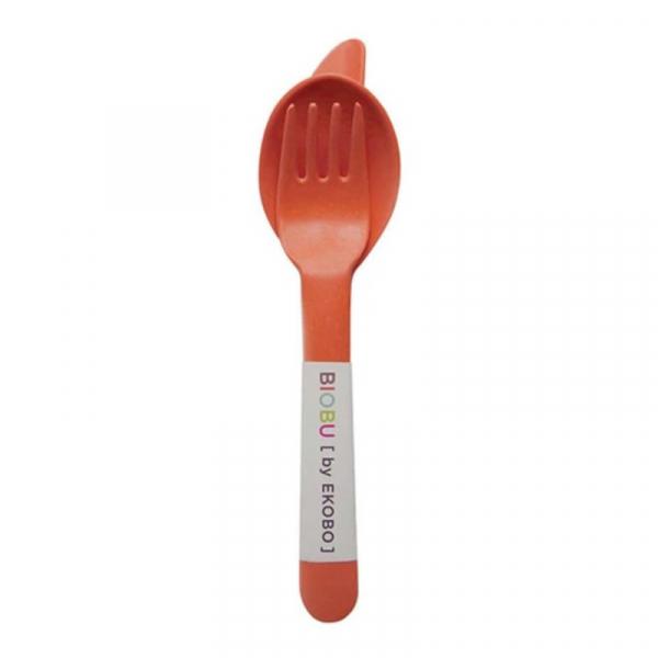 Κουτάλι + Πιρούνι + Μαχαίρι Bamboo (Σετ) Ekobo Persimmon