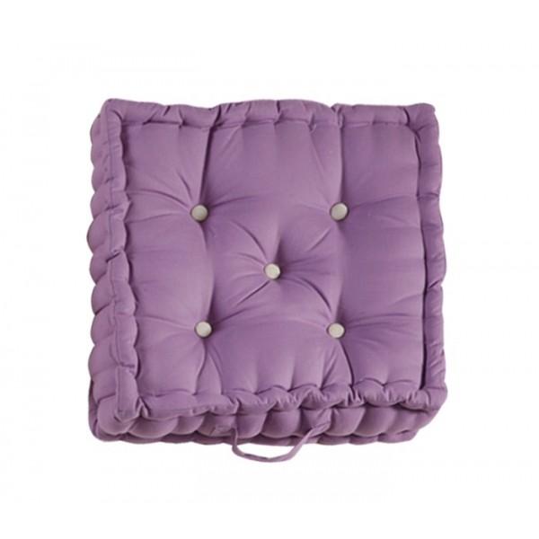 Μαξιλάρα Δαπέδου Nef-Nef Living Solid Lilac