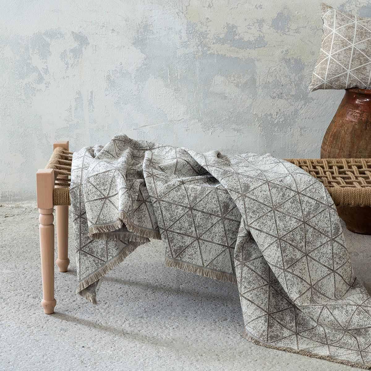 Ριχτάρι Διθέσιου (180×240) Nima Living Swank Taupe