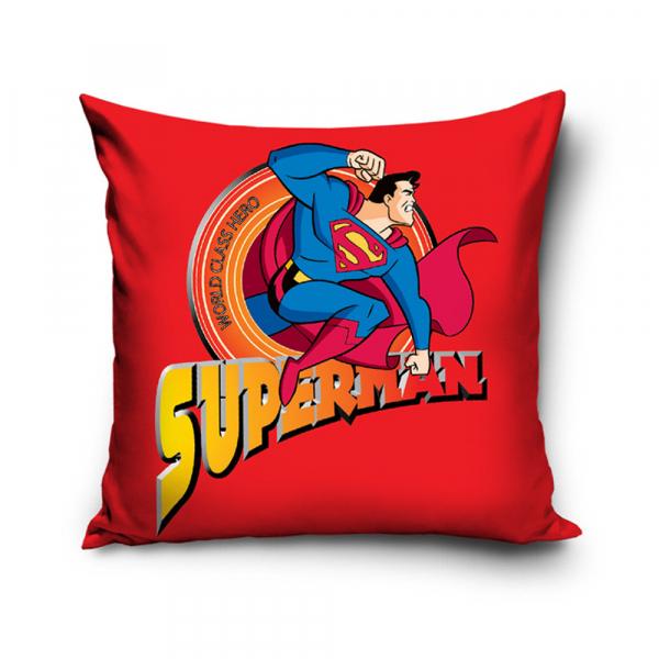 Διακοσμητική Μαξιλαροθήκη (40x40) Superman SUP8003