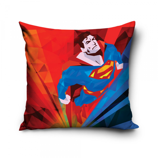 Διακοσμητική Μαξιλαροθήκη (40x40) Superman SUP163004