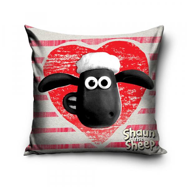 Διακοσμητική Μαξιλαροθήκη (40x40) Shaun The Sheep BS162002