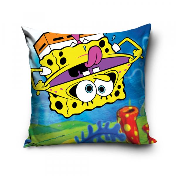 Διακοσμητική Μαξιλαροθήκη (40x40) SpongeBob Squarepants SBOB1920