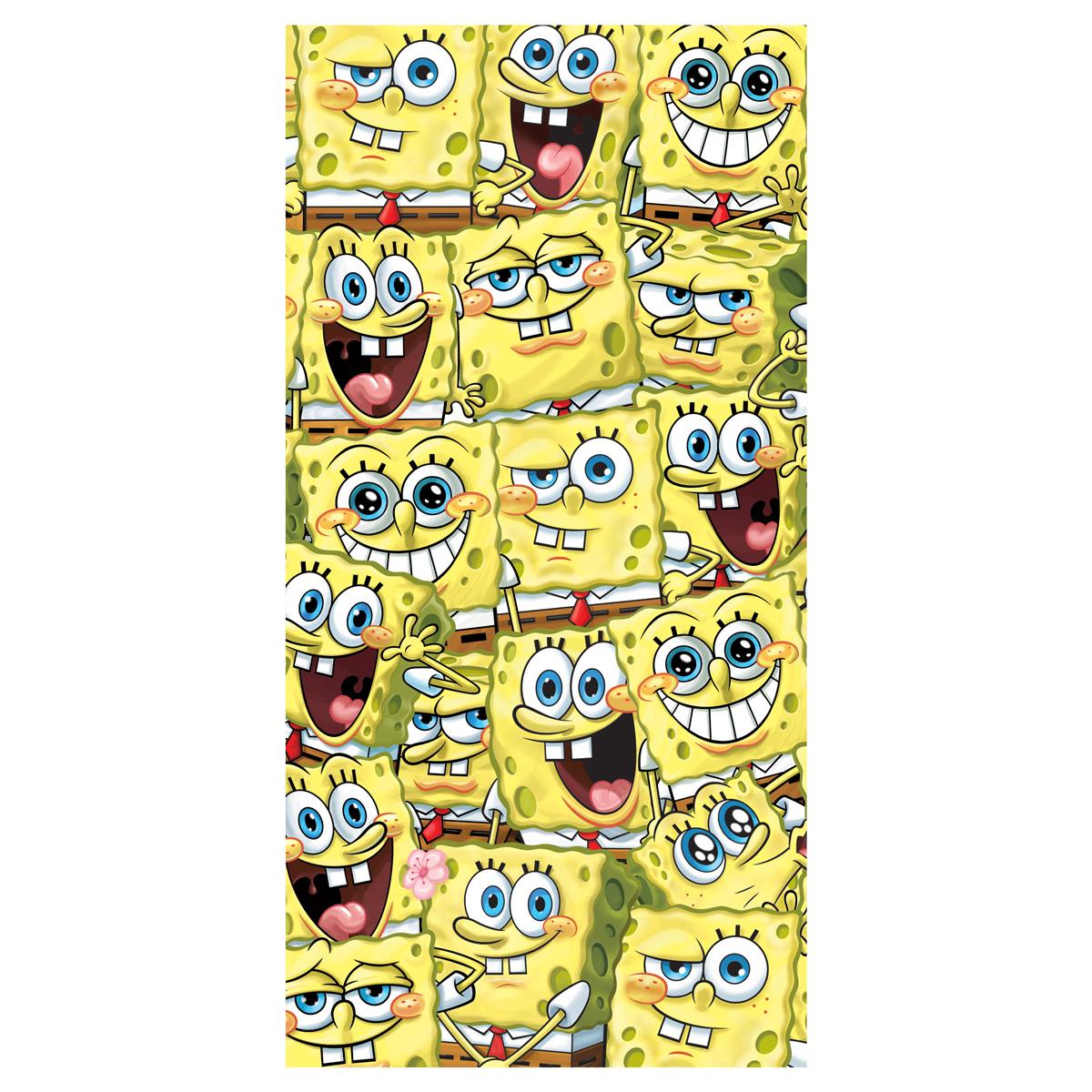 Παιδική Πετσέτα Θαλάσσης SpongeBob Squarepants SBOB192005