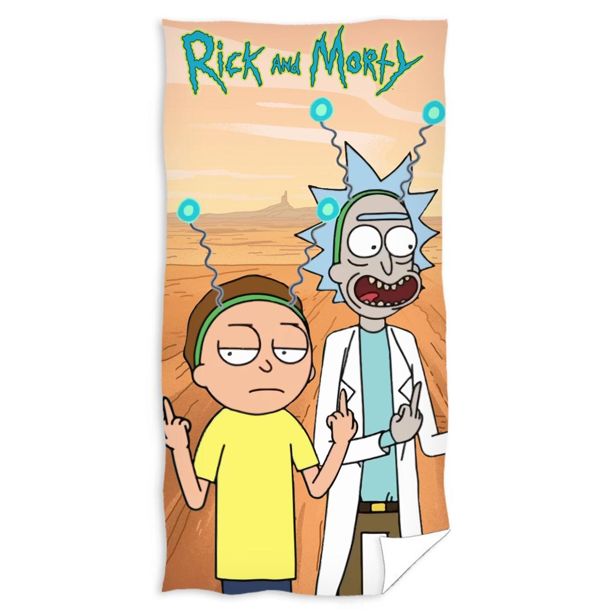 Παιδική Πετσέτα Θαλάσσης Rick & Morty RAM191072