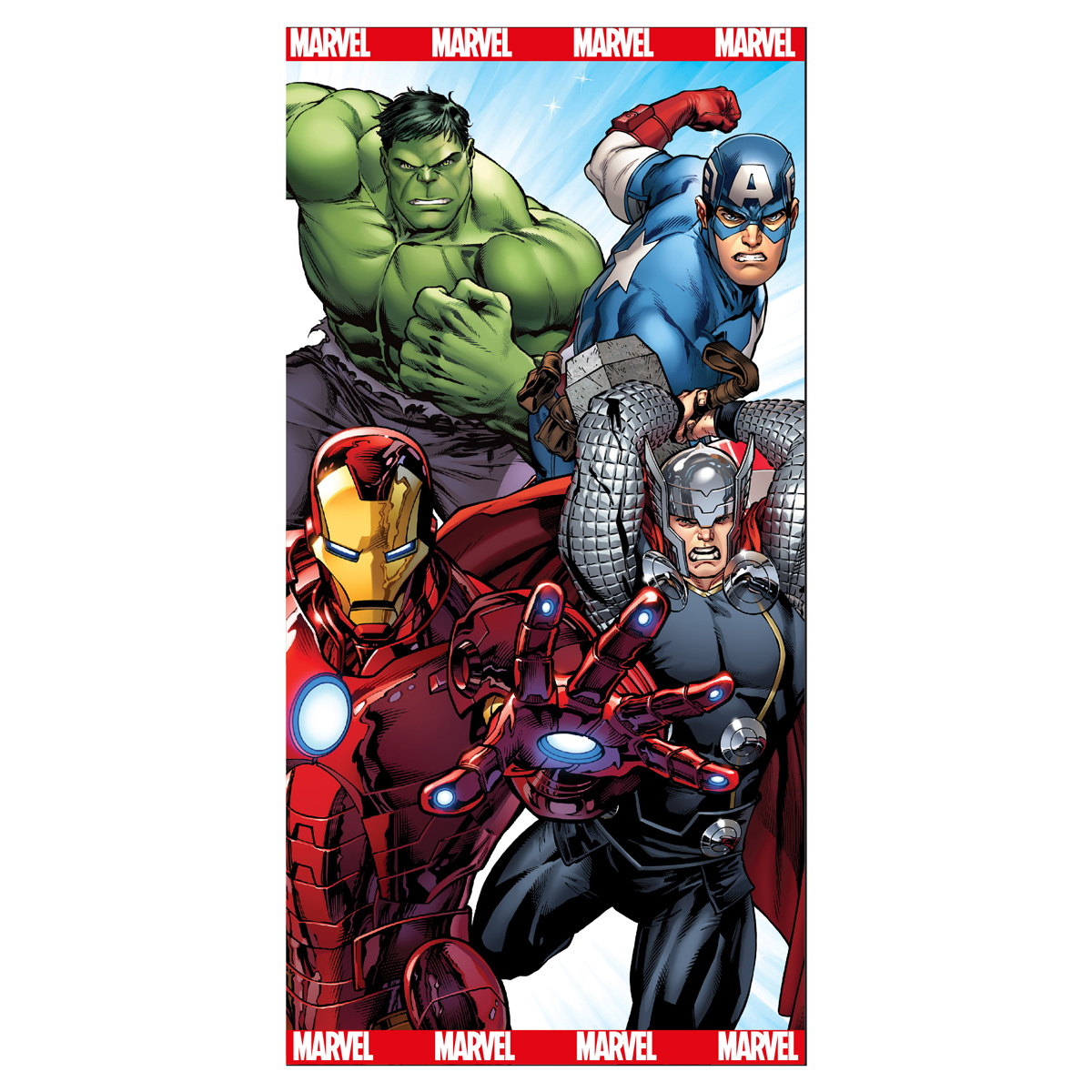 Παιδική Πετσέτα Θαλάσσης Avengers AVE191901