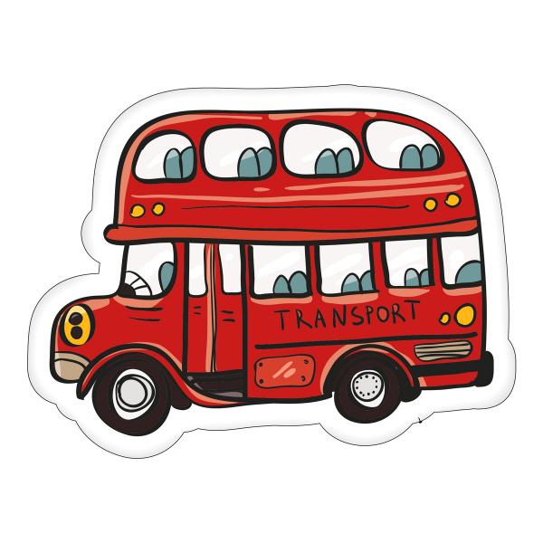 Διακοσμητικό Μαξιλάρι (40x28) Bus KSZ191034
