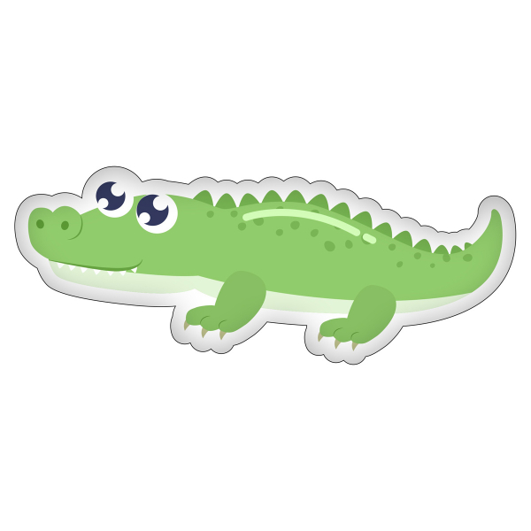 Διακοσμητικό Μαξιλάρι (60x20) Crocodile KSZ191032