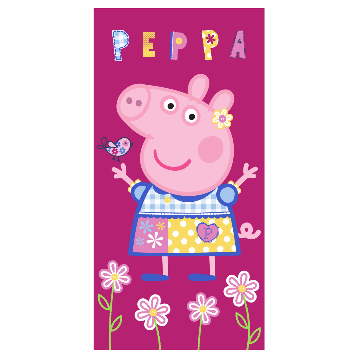 Παιδική Πετσέτα Θαλάσσης Peppa Pig PP192029
