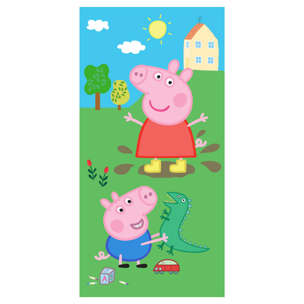 Παιδική Πετσέτα Θαλάσσης Peppa Pig PP192028