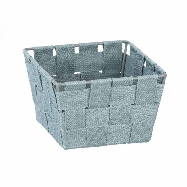 Καλάθι Αποθήκευσης (14x14x9) Wenko Adria Blue-Grey 24412100