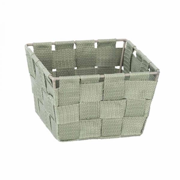 Καλάθι Αποθήκευσης (14x14x9) Wenko Adria Lime Green 24414100