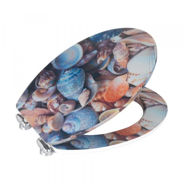 Καπάκι Λεκάνης Wenko Sea Shell 3D 21920100