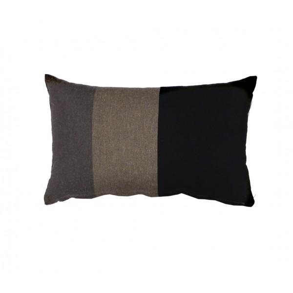 Διακοσμητικό Μαξιλάρι Nef-Nef Tricolor Black