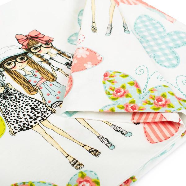 Πάπλωμα Μονό Dimcol Girls 58 Pink
