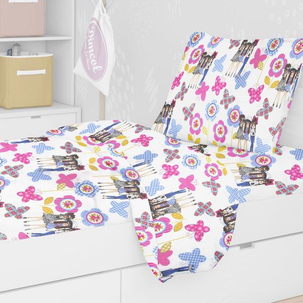 Πάπλωμα Μονό Dimcol Girls 59 Lilac
