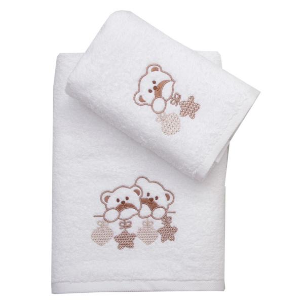 Βρεφικές Πετσέτες (Σετ 2τμχ) Viopros Τόμπι