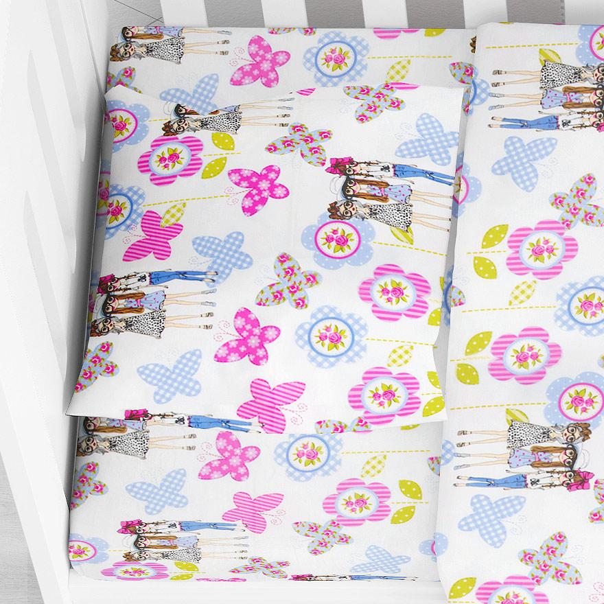 Βρεφική Μαξιλαροθήκη Dimcol Girls 59 Lilac