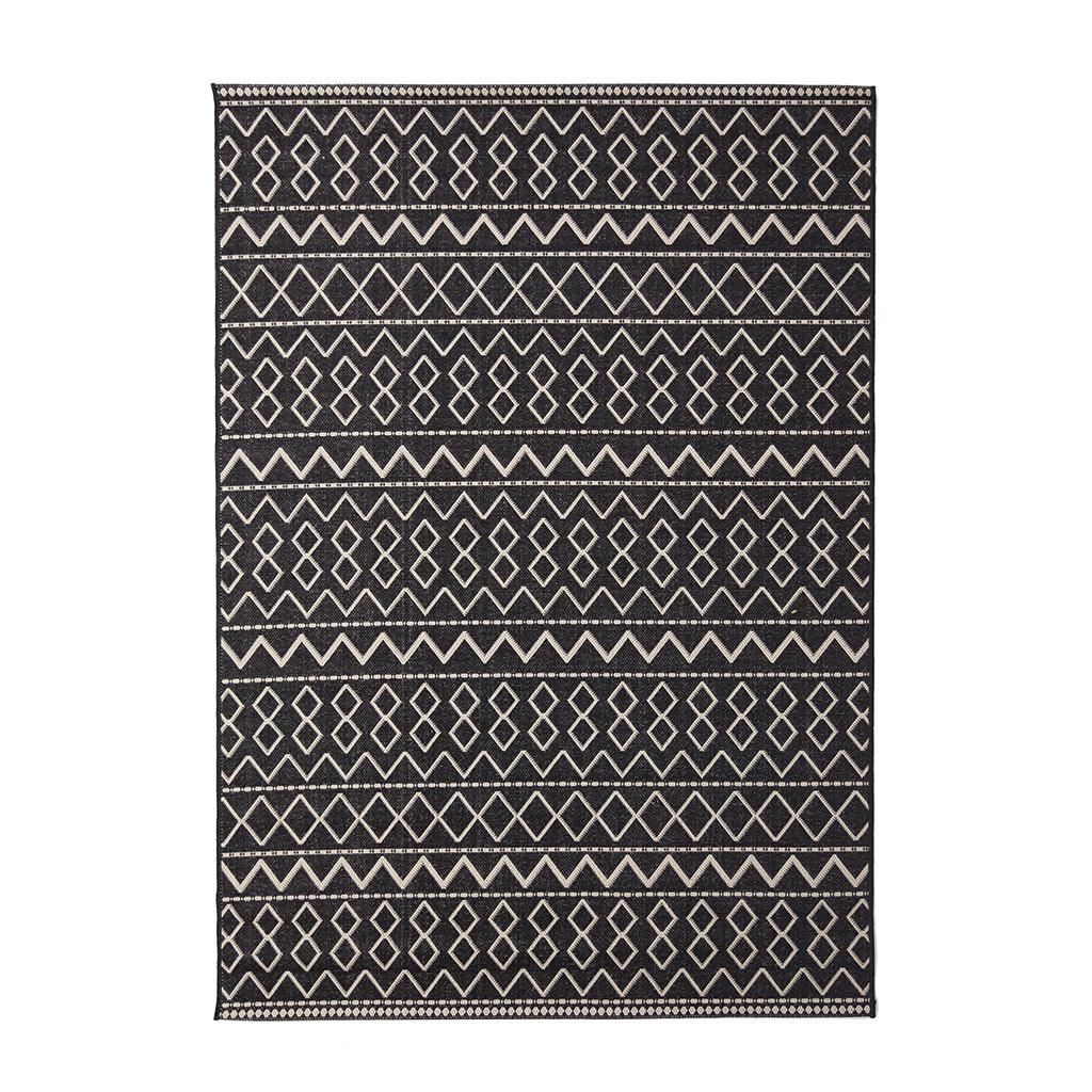 Χαλί Καλοκαιρινό (140×200) Royal Carpets Flox 8020/1 Black