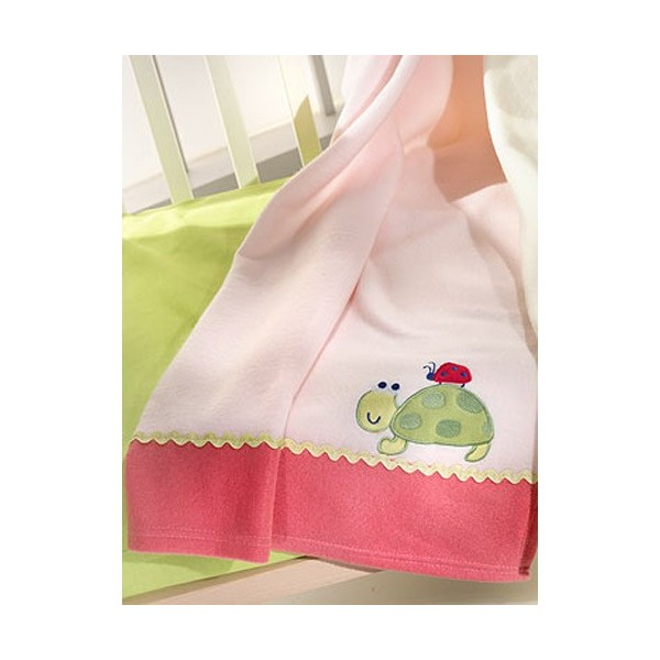 Κουβέρτα Fleece Κούνιας Nima Fairytale The Turtle