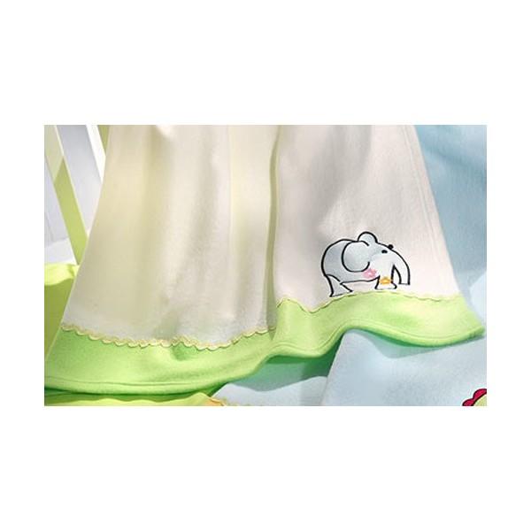 Κουβέρτα Fleece Κούνιας Nima Fairytale The Elephant