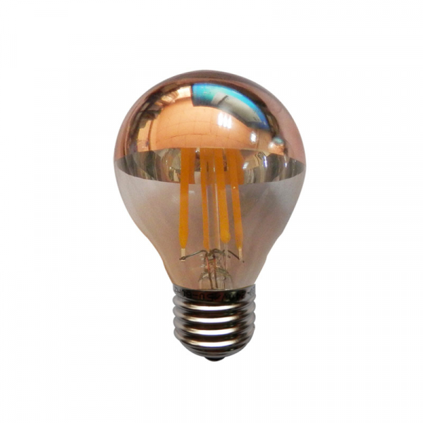 Λάμπα Led Diolamp Dimmable E27/4W/2700K/400Lm GLAMO4WWDIMG Rose Gold