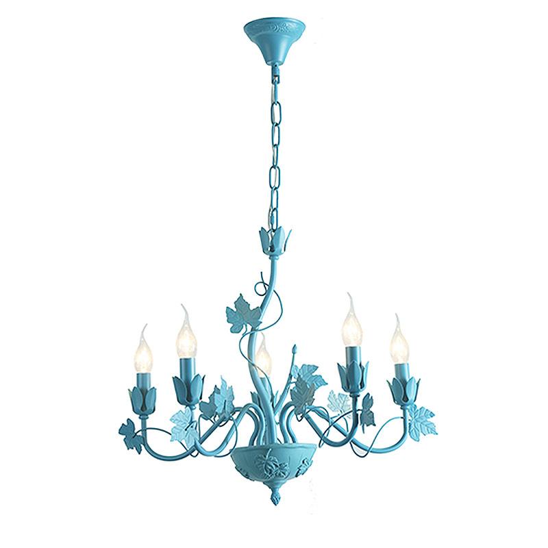 Φωτιστικό Οροφής Πολύφωτο Aca EG170605PB Blue Matt