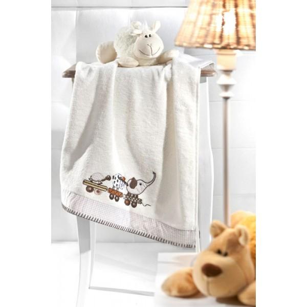 Παιδικές Πετσέτες Προσώπου (Σετ 2τμχ) Nima Favola Tiere