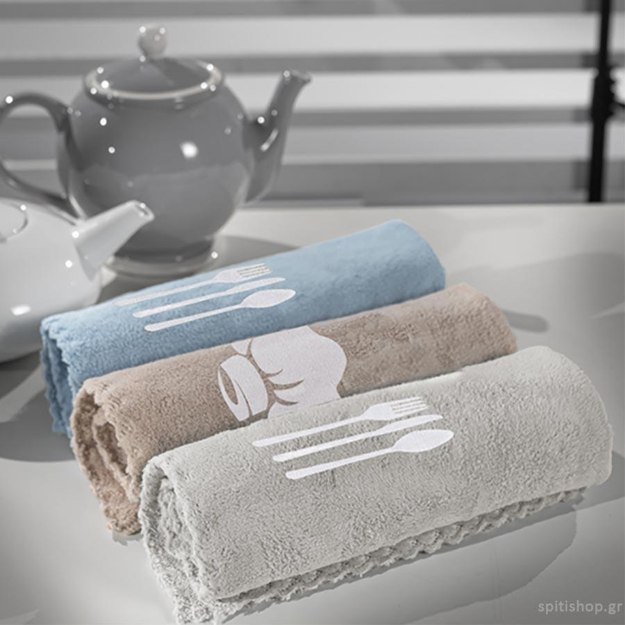 Πετσέτες Κουζίνας (Σετ 3τμχ) Guy Laroche Gourmet Set 3
