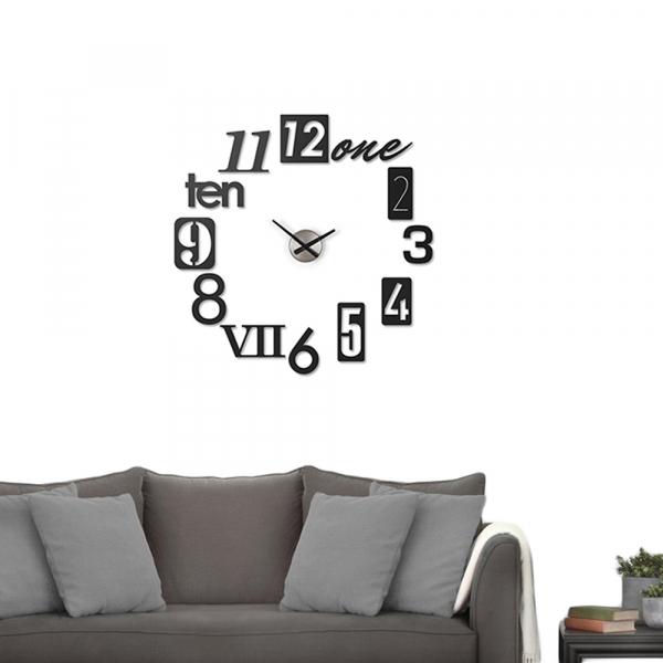 Ρολόι Τοίχου Umbra Numbra Black 118430-040