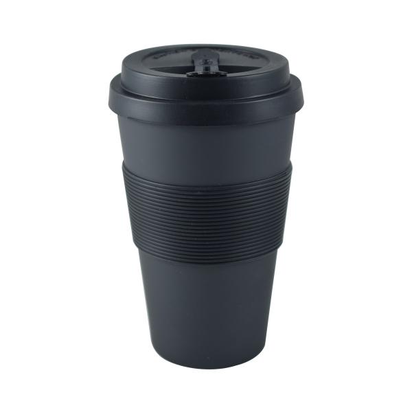 Κούπα Ταξιδίου Bamboo Με Καπάκι Estia Black 01-8215