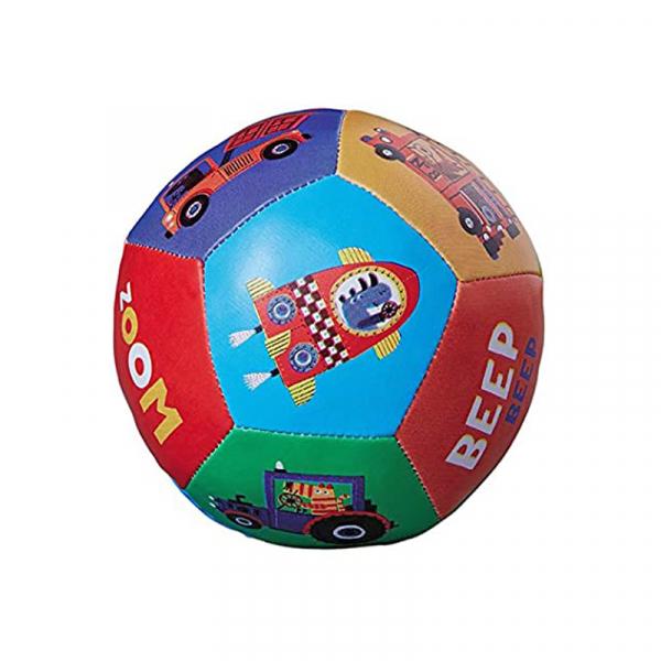 """Μαλακό Παιχνίδι Με Ήχο Crocodile Creek Μπάλα """"Οχήματα"""""""