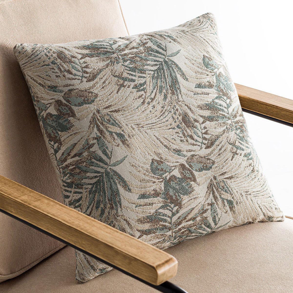 Διακοσμητική Μαξιλαροθήκη (50×50) Gofis Home Paloma Aqua 696/11