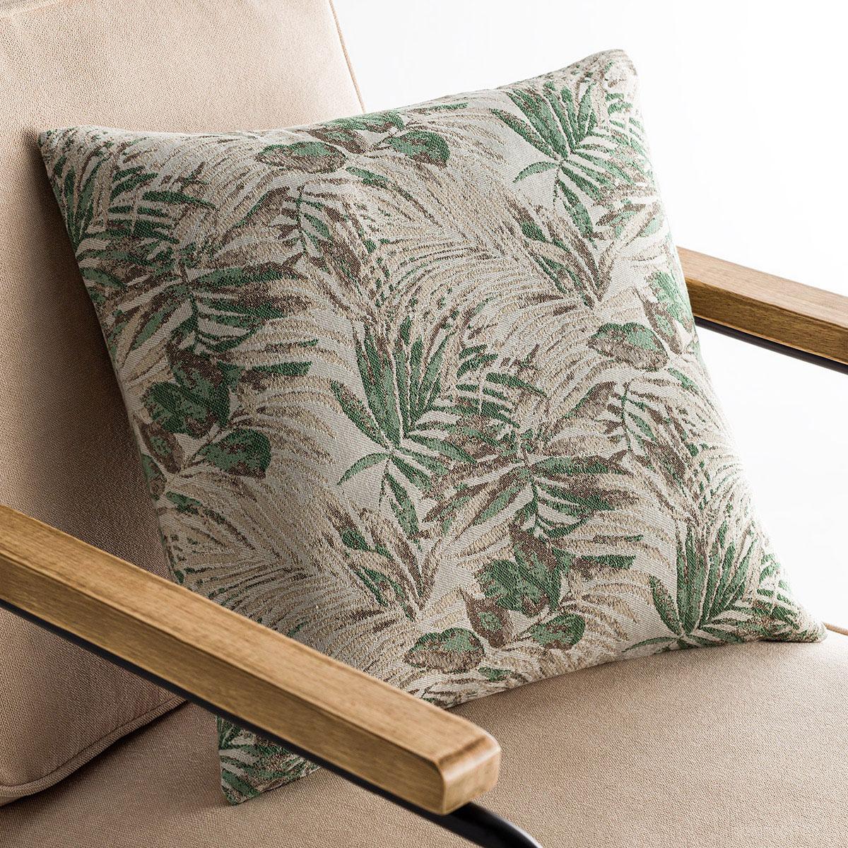 Διακοσμητική Μαξιλαροθήκη (50×50) Gofis Home Paloma Green 696/18