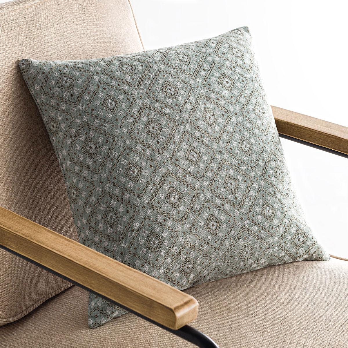 Διακοσμητική Μαξιλαροθήκη (50×50) Gofis Home Selva Aqua 810/11