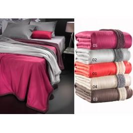 Κουβέρτα Fleece Υπέρδιπλη Με Γουνάκι Nima Twinkle