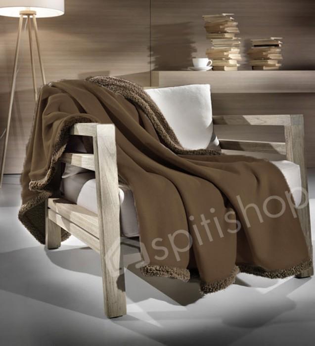 Κουβέρτα Καναπέ Nima Merino 01